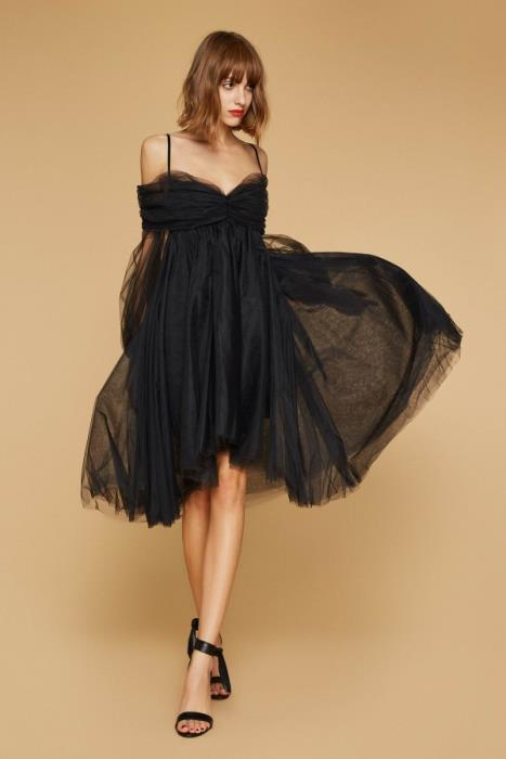 Aniye By, abito in tulle nero